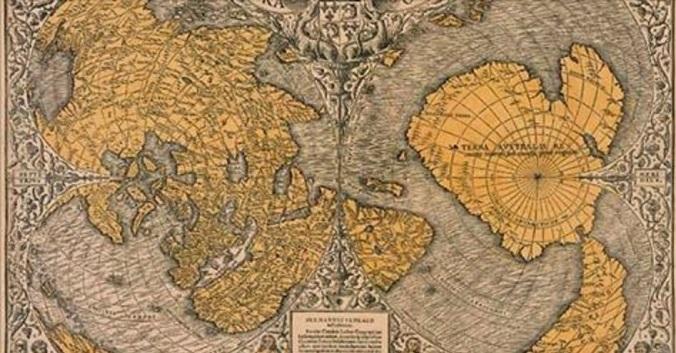 Une carte vieille de 500 ans explose la «réalité sur la dislocation de la terre»