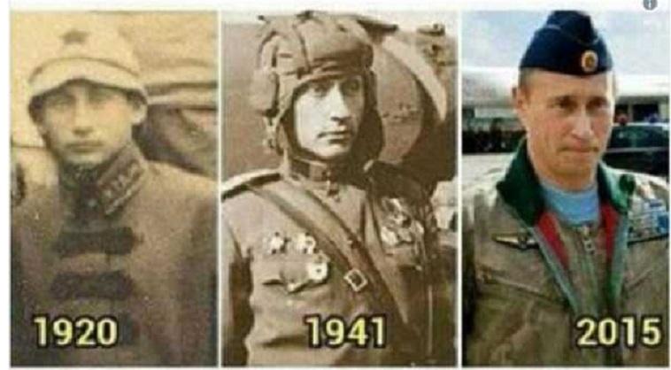 Vladimir Poutine serait un extraterrestre immortel