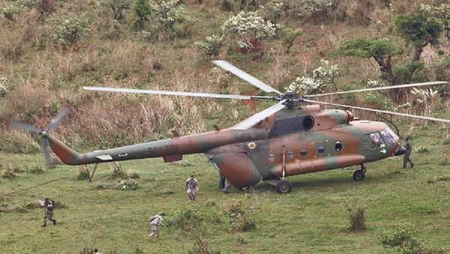 L'armée camerounaise intercepte un hélicoptère Français livrant des armes a Boko haram