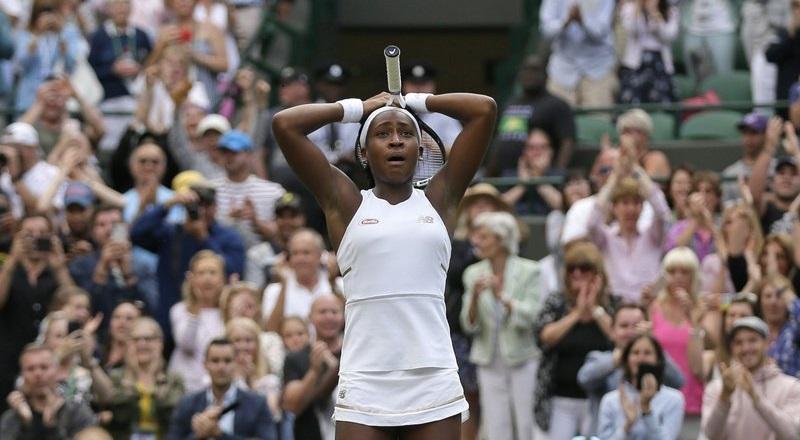 Cette petite Américaine massacre tous ses adversaire de tennis à Wimbledon