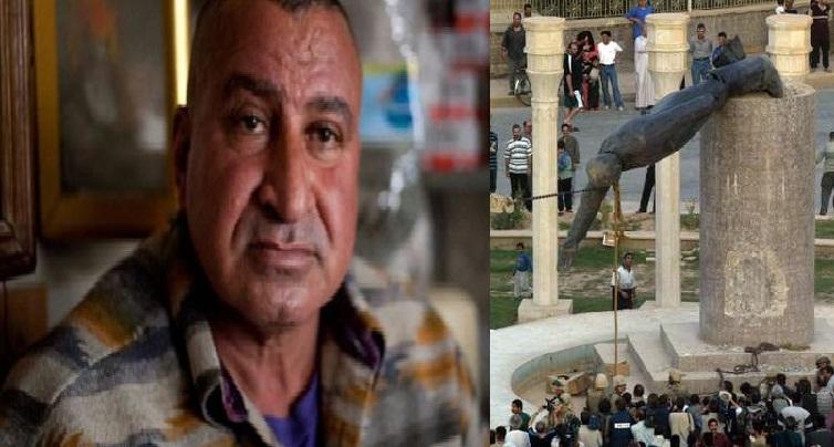 «J'ai renversé la statue de Saddam Hussein, maintenant je veux qu'il revienne»