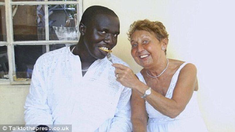 Grand-mère qui a épousé un gambien de 35 ans son cadet, puis a découvert qu'il ne voulait qu'un visa britannique
