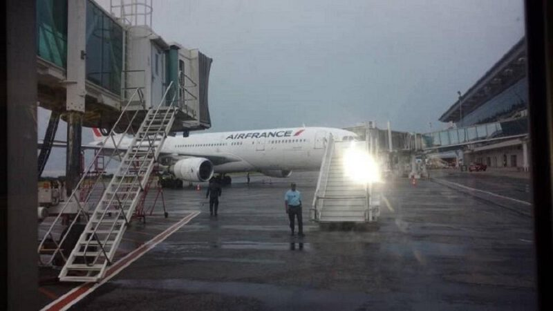 Urgent: Attentats contre un avion d'Air France au Congo