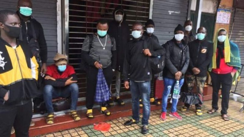 La chine expulse des  africains et les accusent d'apporter le coronavirus sur son sol