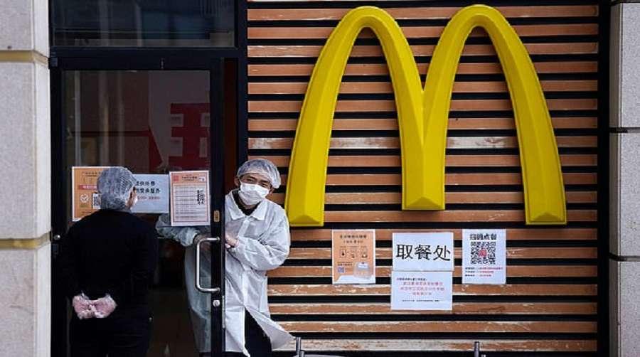 Mcdonalds Chine interdit aux Noirs d'entrer par crainte du coronavirus