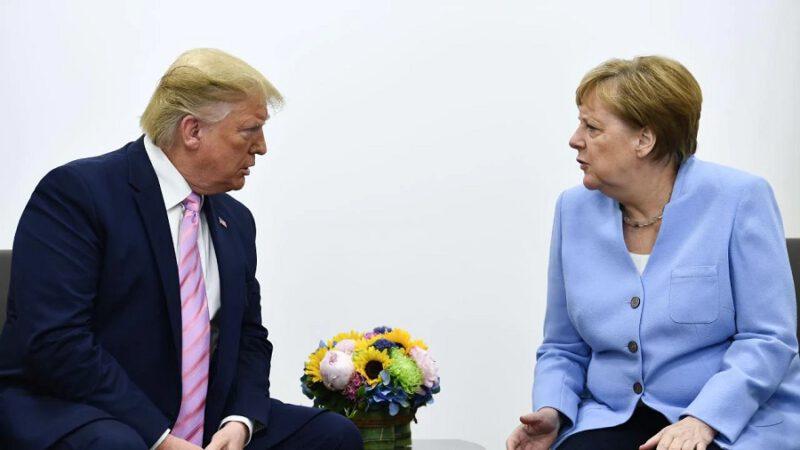 Trump dit qu'il voit l'Allemagne comme un ennemi à cause de la Seconde Guerre mondiale