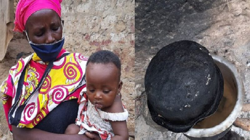 Kenya – Confinement : Une femme fait cuire des pierres pour nourrir ses enfants affamés