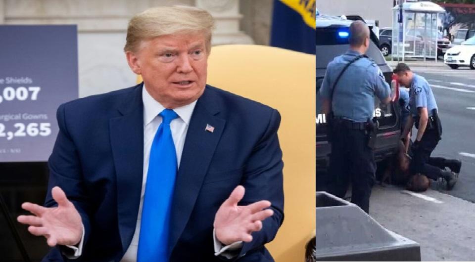 Trump intervient dans l'affaire d'un homme noir tué par des policiers