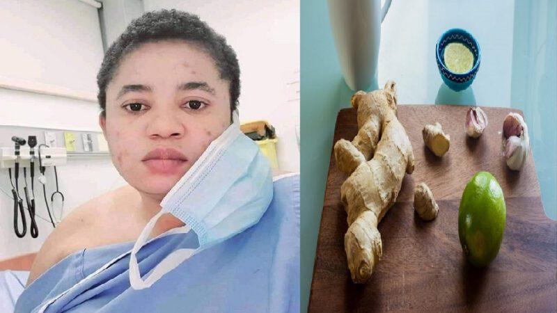 Une survivante de COVID-19 révèle les effets de la concoction d'ail, gingembre et de citron sur elle