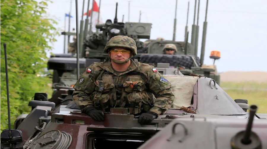 L'armée polonaise a envahi la République Tchèque et occupé son territoire