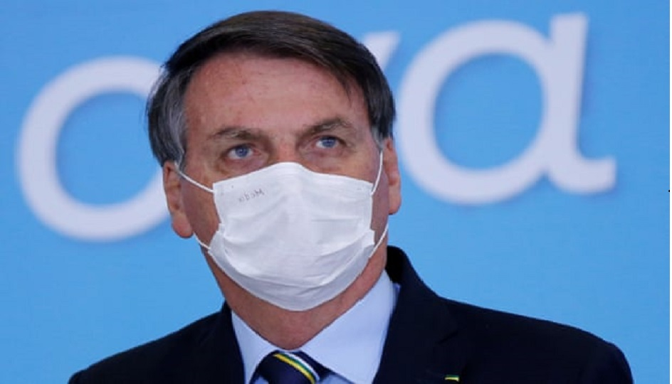 Un Juge brésilien ordonne à Bolsonaro de porter un masque facial