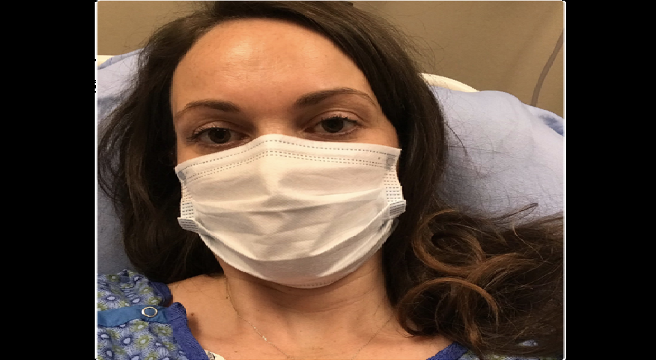 Une femme contracte le coronavirus pour la deuxième fois