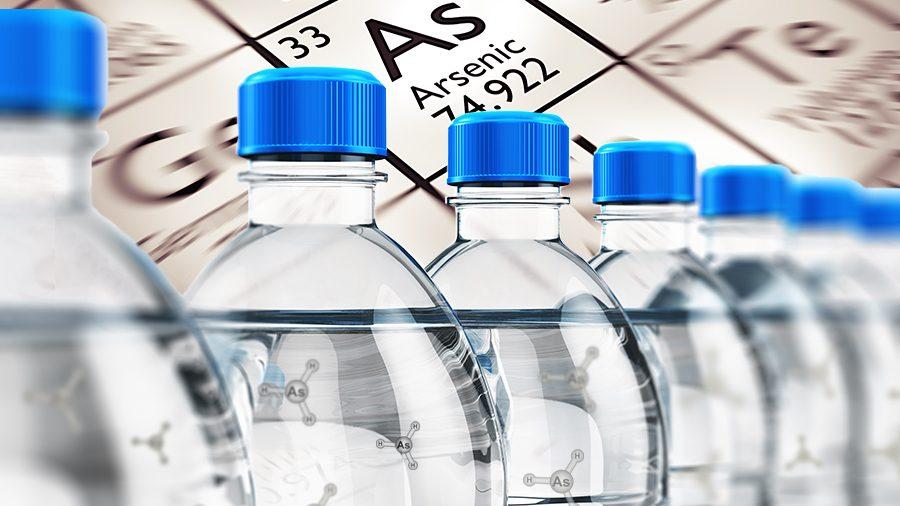 USA: Des niveaux élevés d'arsenic trouvés dans de l'eau en bouteille