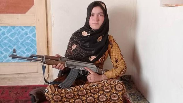 Afghan girl shoots dead two Taliban fighters after they murdered her parents