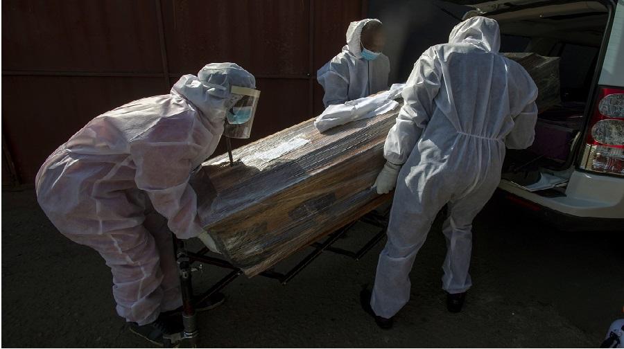 L'Afrique du Sud au bord de l'effondrement dû au coronavirus.