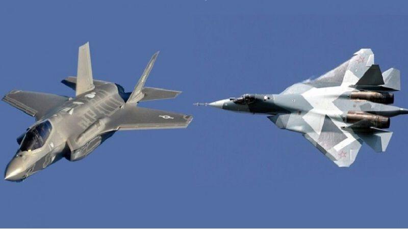 Syrie: un Su-57 russe chasse un F-35 américain