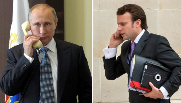 Macron a appelé Poutine pour discuter du vaccin russe contre le Covid-19 et de la Biélorussie