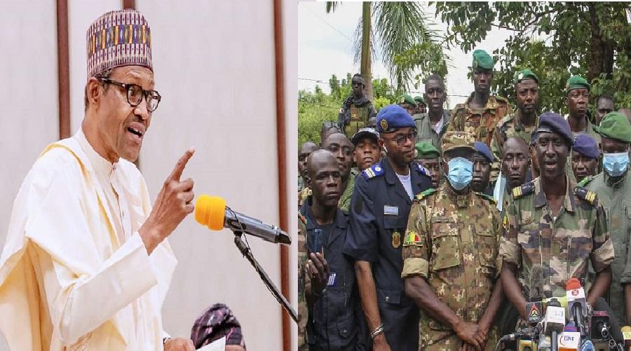 Mali: Vous avez 12 mois pour rétablir le régime démocratique, l'ultimatum de Buhari à la junte militaire