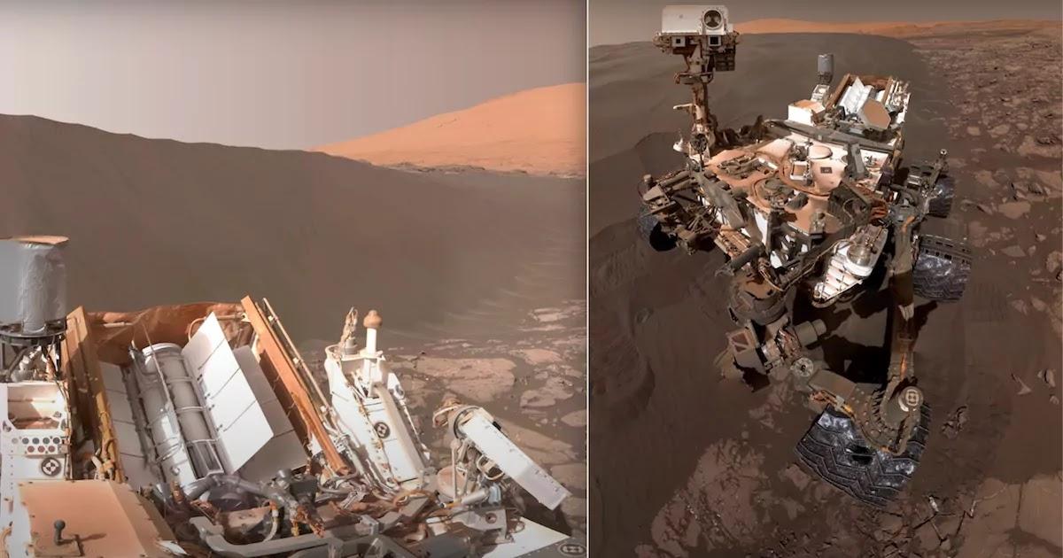 Une vidéo montre des photos HD à couper le souffle de Mars capturées par la NASA dans le cadre d'une mission de découverte de la vie sur la planète rouge