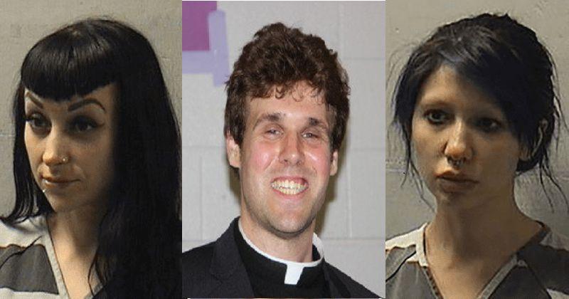 Un prêtre catholique arrêté lors d'un trio avec des stars du porno sur l'autel de l'église