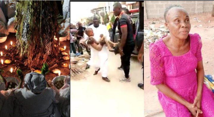 Une prophétesse de 80 ans tue des enfants pour des rituels