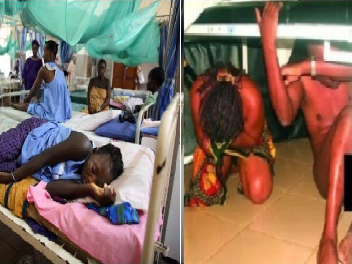 un homme se faufile dans une hôpital pour femme, fait l'am0ur avec sa femme malade
