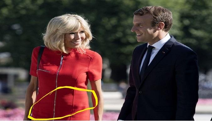 à 64 ans, la première dame Brigitte est enceinte. Macron bientôt papa