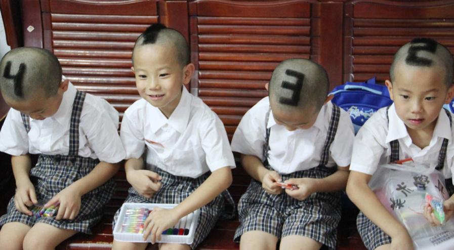 Chine: les enfants se ressemblent tellement que les professeurs les numérotent pour les reconnaître