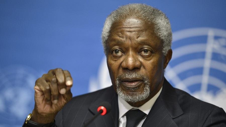 Urgent: L'ancien secrétaire général de l'ONU, Kofi Annan, est mort