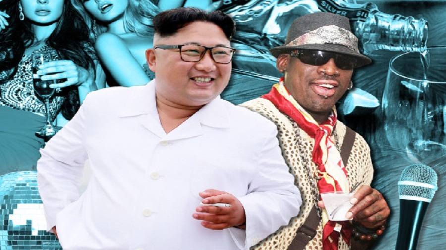Dennis Rodman décrit la nuit torride qu'il a passée avec Kim Jong Un