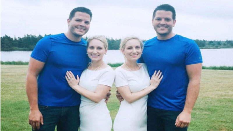 Identical Twin Sisters Who Married Identical Twin Brothers Both Announce Their Pregnancies