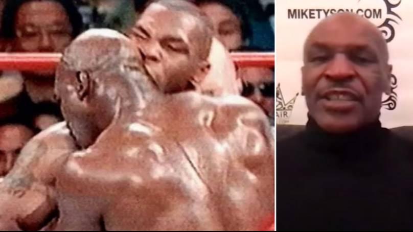 Mike Tyson révèle enfin pourquoi il a mordu l'oreille d'Evander Holyfield