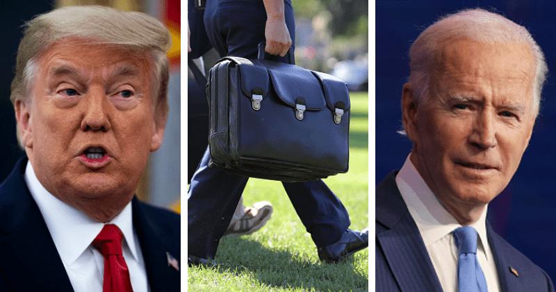 Trump s'en vas de la maison blanche avec les codes de l'arsenal nucléaire américain