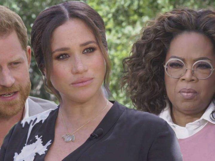 Meghan Markle fait des révélations choquantes sur la famille royale à Oprah Winfrey