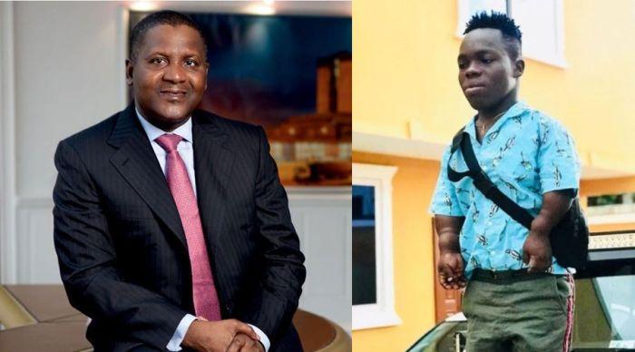 ENFIN!! Aliko Dangote répond à l'homme le plus riche d'Afrique auto-acclamé, Shatta Bandle
