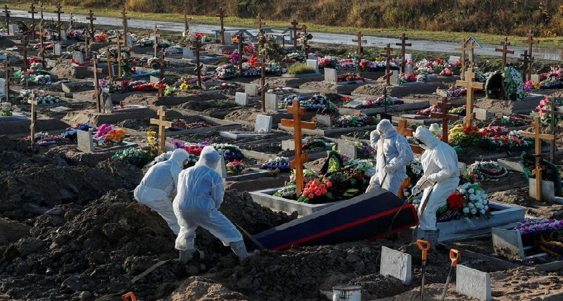 Des cadavres jonchant dans toute la Russie à cause du Covid