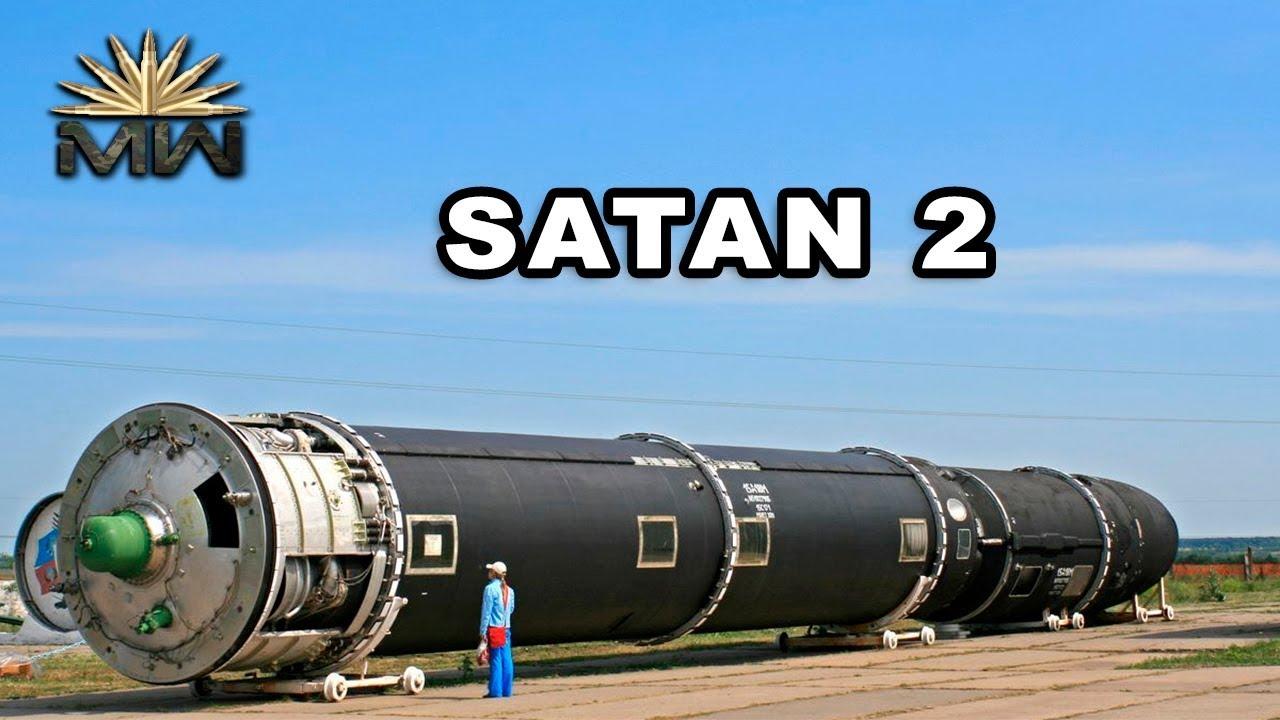 """La Russie vas tester son missile invincible appelé """" Satan 2 """" Près de l'Alaska aux USA"""