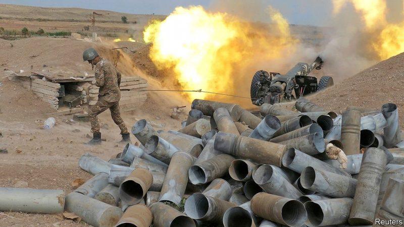 Une guerre meurtrière se déroule actuellement entre l'arménie et l'armée azerbaïdjanaise à la frontière nord