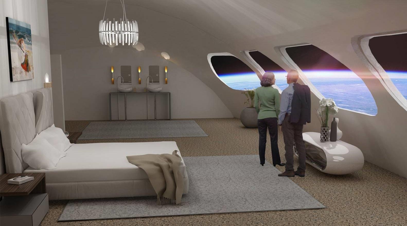 Le premier hôtel spatial au monde ouvrira ses portes en 2027