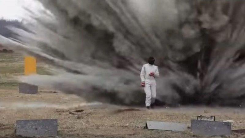 Une nouvelle combinaison de combat russe peut survivre à l'explosion d'une bombe (vidéo)