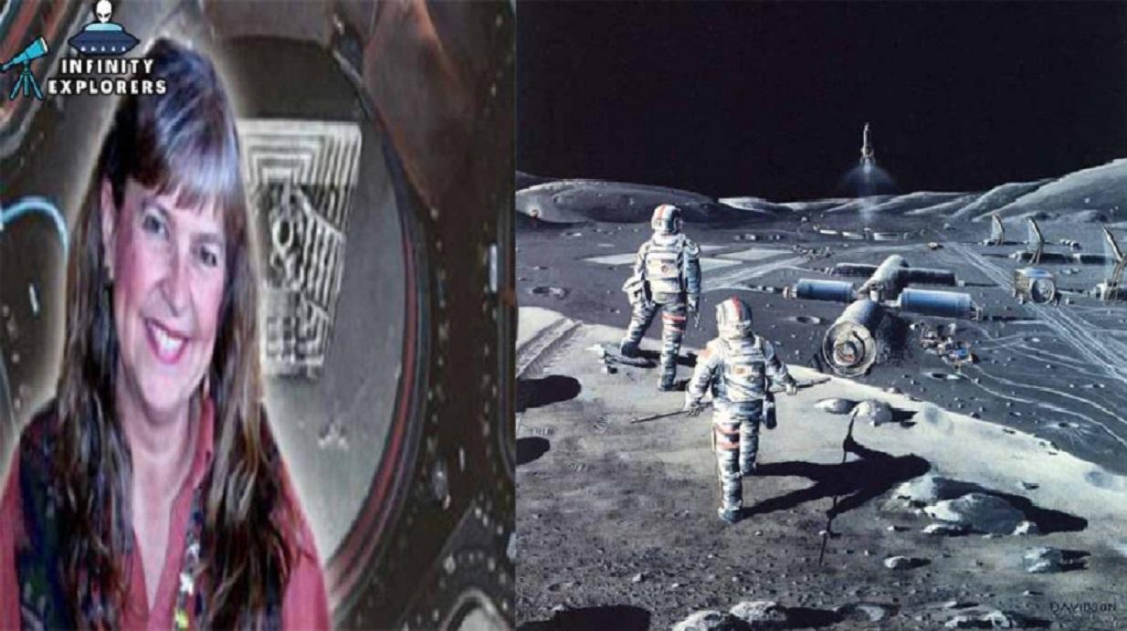 Niara Isley de l'US Air Force, affirme avoir travaillé sur une base lunaire secrète