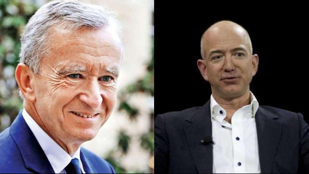 Bernard Arnault surpasse Jeff Bezos et devient l'homme le plus riche du monde
