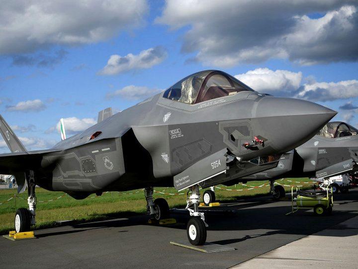 Environ 15% des F-35A de l'US Air Force sont cloués au sol, faute de moteur