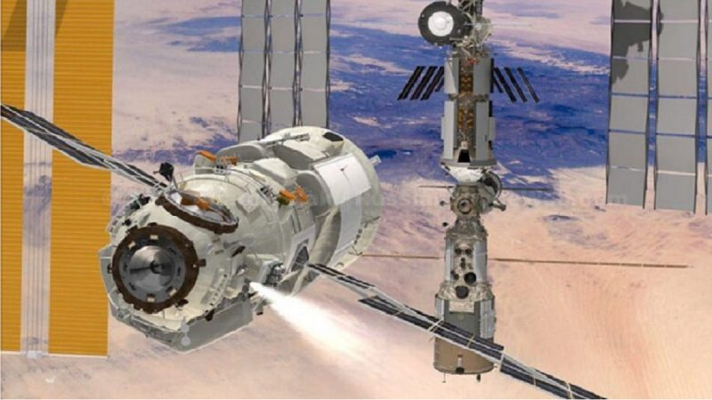 Le module russe Nauka dévie accidentellement l'ISS de son orbite