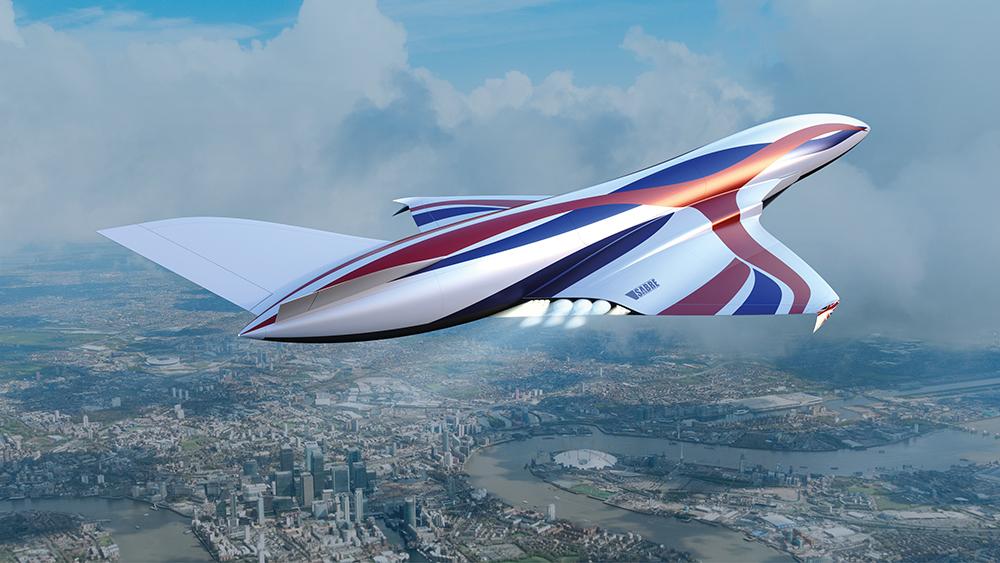Ce nouvel «avion spatial» hypersonique peut vous emmener de New York à Londres en une heure