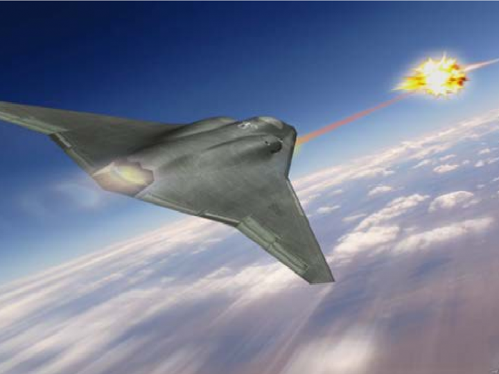 L'US Air Force mettra des rayons de la mort sur les avions de chasse