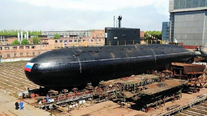 Le nouveau sous-marin diesel-électrique construit pour la flotte russe du Pacifique entame les essais