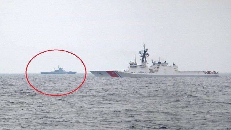 Un navire de la marine russe déjoue une frappe de missiles ennemis lors d'exercices en mer Noire