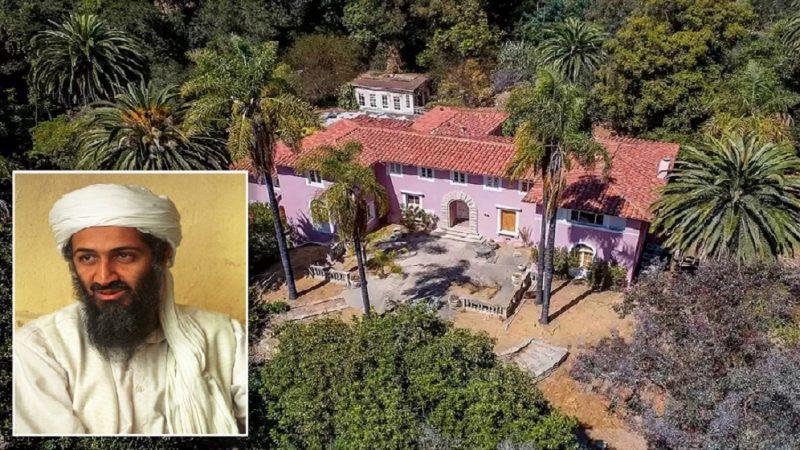 Manoir luxueux abandonnée de la famille d'Oussama Ben Laden aux États-Unis