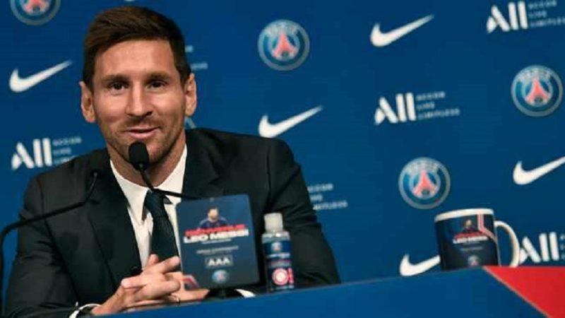 Lionel Messi annonce qu'il va donner la Ligue des champions au PSG
